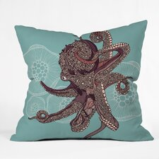 Valentina Ramos Octopus Bloom Throw Pillow