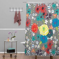 Vy La Blooming Love Shower Curtain