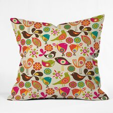 Valentina Ramos Little Birds Indoor/Outdoor Throw Pillow