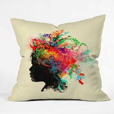 Budi Kwan Wildchild Throw Pillow