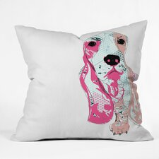 Casey Rogers Bassett Throw Pillow