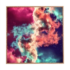 Yin Yang Painted Clouds by Caleb Troy Framed Graphic Art