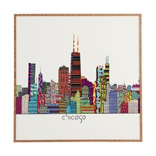 Chicago City by Brian Buckley Framed Graphic Art Plaque