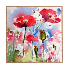 Art Plaque My Lovely Garden by Ginette Fine Framed Painting Print Plaque