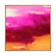 Cherry Rose Clouds by Caleb Troy Framed Graphic Art Plaque