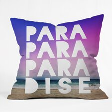 Leah Flores Paradise Indoor/Outdoor Throw Pillow