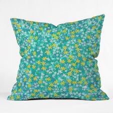 Joy Laforme Wild Daisies Indoor/Outdoor Throw Pillow
