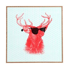Young Buck by Nick Nelson Framed Graphic Art