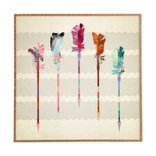 Feathered Arrows by Iveta Abolina Framed Graphic Art