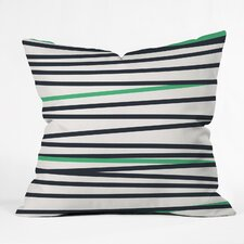 Khristian A Howell Crew Stripe Cool Indoor/Outdoor Throw Pillow