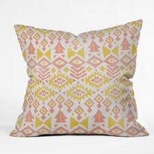 Loni Harris Tribal Party Indoor/Outdoor Throw Pillow