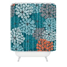 Khristian A Howell Greenwich Gardens 3 Extra Long Shower Curtain