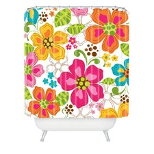 Khristian A Howell Kaui Blooms Extra Long Shower Curtain