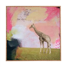 Abstract Giraffe by Natalie Baca Framed Graphic Art