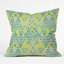 Pattern State Triangle Marine Indoor/Outdoor Throw Pillow