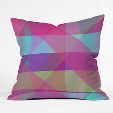 Paula Ogier Mad For Plaid Indoor/Outdoor Throw Pillow