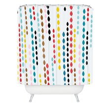 Khristian A Howell Nolita Drops Extra Long Shower Curtain