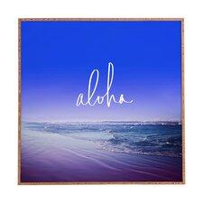 Aloha Beach by Leah Flores Framed Photographic Print Plaque