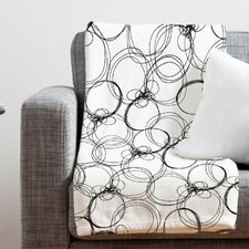 Rachael Taylor Circles Throw Blanket