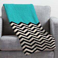Bianca Green Throw Blanket