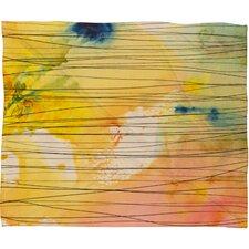 Susanne Kasielke Stripy Collage Fleece Throw Blanket