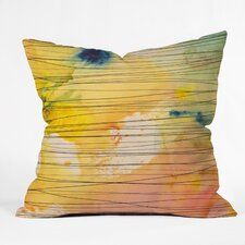 Susanne Kasielke Stripy Collage Throw Pillow