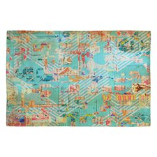 MIK 42 Blue Area Rug