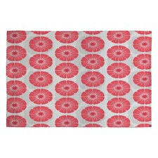 Caroline Okun Splendid Red Area Rug