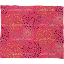 Kerrie Satava Surprise Bloom Fleece Throw Blanket
