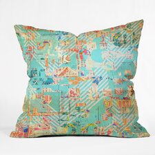 Mik 42 Throw Pillow