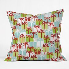 Andrea Victoria Jolly Gifts Throw Pillow