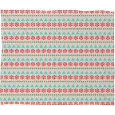 Allyson Johnson Holiday Style Plush Fleece Throw Blanket
