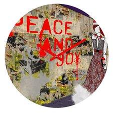 Amy Smith Urban Holiday Wall Clock