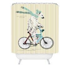 Brian Buckley Polar Bear Days Shower Curtain