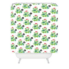 Andi Bird Help Me Holiday Shower Curtain