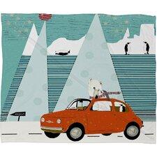 Brian Buckley The Polar Express Plush Fleece Throw Blanket