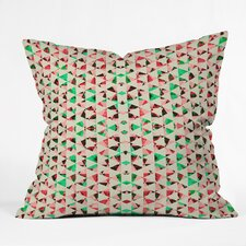 Caleb Troy Holiday Tone Shards Throw Pillow