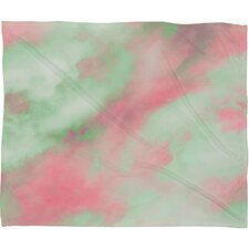 Caleb Troy Pastel Christmas Plush Fleece Throw Blanket
