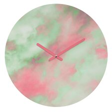 Caleb Troy Pastel Christmas Wall Clock