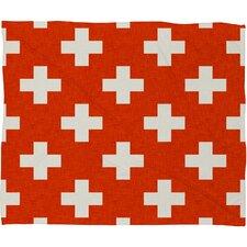 Holli Zollinger Vermillion Plus Plush Fleece Throw Blanket