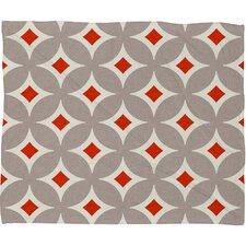 Holli Zollinger Vermillion Diamond Plush Fleece Throw Blanket