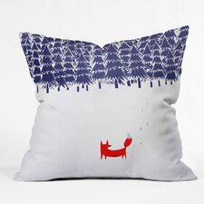 Robert Farkas Alone In The Forest Throw Pillow