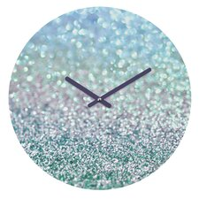 Lisa Argyropoulos Snowfall Wall Clock