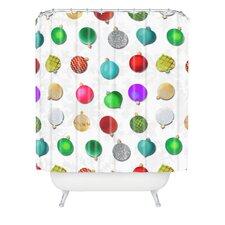 Madart Inc Multi Ornaments Design Shower Curtain