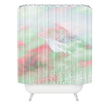 Caleb Troy Banff Painted Christmas Shower Curtain