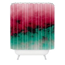 Caleb Troy Zero Visibility Poinsettia Ombre Shower Curtain