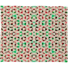 Caleb Troy Holiday Tone Shards Plush Fleece Throw Blanket