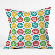 Andi Bird Sierra Snowflakes Throw Pillow