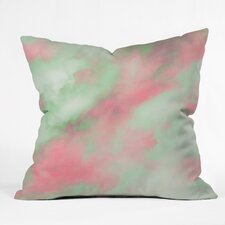 Caleb Troy Pastel Christmas Throw Pillow