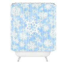 Lisa Argyropoulos Snow Flurries Shower Curtain